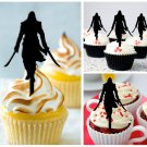 Cp293 cupcake toppers Assassin's Creed Package : 10 pcs