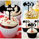 Cp308 cupcake toppers batman Package : 10 pcs