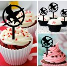 Cp352 cupcake toppers the hunger games Package : 10 pcs