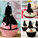 Cp358 cupcake toppers the matrix Package : 10 pcs