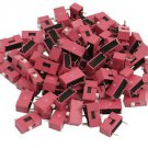 100pcs Slide Type Switch 1-Bit 2.54mm 1 Position DIP Red Pitch New