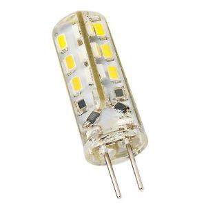 10PCS G4 Home 3014SMD LED light lamp Warm White Silicone Crystal Slim 1.5W  12V