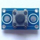 2PCS 6x6x5mm PCB Push Button Tactile Tact Switch Module PCB Size 16x9mm