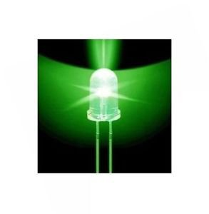 50pcs F5 5mm Green Round Superbright LED Light LED lamp NEW