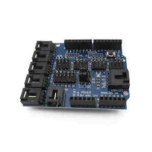 1PCS Sensor Shield V4 Digital Analog Module For Arduino Duemilanove / UNO