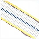 24values 240pcs 1/4W 5% Metal Film Resistor 75K ohm-1.8M ohm Each 10pcs N