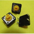 50pcs New B3F Tactile Switch Key Button Switch 12x12x7.3mm