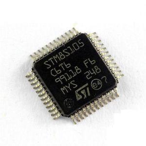 5PCS STM8S105C6T6 STM8S105C6 8-bit 32k Flash STM8S Microcontroller LQFP-48 NEW