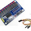 8-Bit LED 8-Bit Digital Tube 8-Bit Key TM1638 module for AVR Arduino ARM STM32