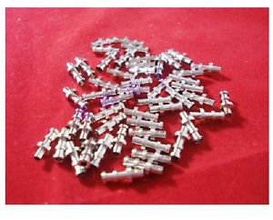 20pcs Turret Lug 11.6mm Overall Length 2.6mm Diameter for 3mm Terminal Board AMP