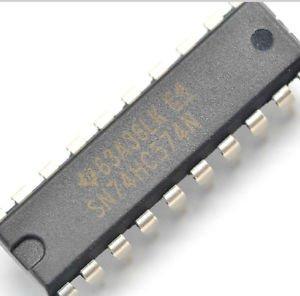 10 PCS 74HC574N 74HC574 DIP-20 D-Type Flip-Flop Integrated Circuit IC DIP-20
