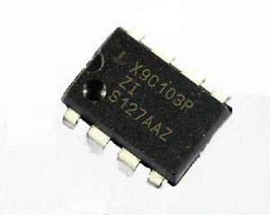 10pcs X9C103P X9C103 DIP-8 E2POT Nonvolatile Digital Potentiometer