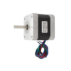 4-lead Nema 17 stepper motor 42BYGHW609 with 4000g.cm 56oz-in holding torque NEW