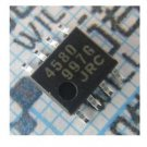 50PCS JRC4580 SOP8 JRC LOW LOISE OPAMP NEW GOOD QUALITY