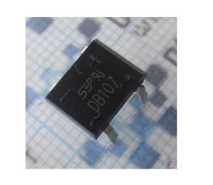 10pcs DB107 DB-107 1A 700V Bridge Rectifier