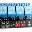 1pcs 5V 4 Channels Relay Module For 51 ARM PIC AVR DSP MSP430