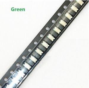500 pcs SMD SMT 1206 Super bright GREEN LED lamp Bulb GOOD QUALITY