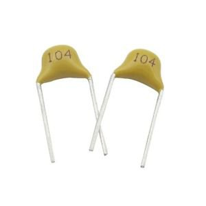 100/200/500/1000PCS NEW 100NF 0.1uF 104 50V Monolithic Ceramic Chip Capacitor