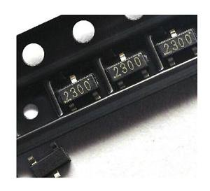 100 PCS SI2300 SI2300DS N-Channel 30-V (D-S) MOSFET SOT-23 New