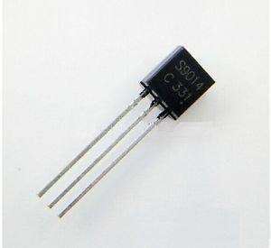 1000PCS S9014 TRANSISTOR NPN 45V 100MA TO-92 NEW
