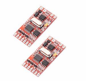 2 pcs DMX512 Decoder 3-Channel Smart Switch for 5050 RGB LED Light