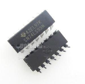 10PCS SN74LS93N 74LS93 TI IC 4-BIT BINARY COUNTER 14-DIP NEW