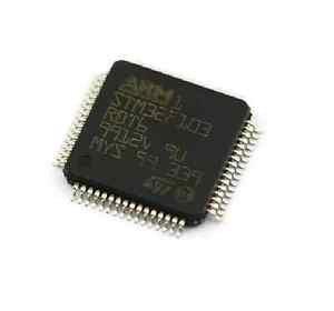 10PCS original LQFP-64 STM32F103RBT6 STM32F103 LQFP64 128Kbytes ARM ST