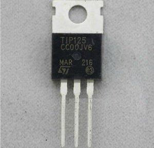 2pcs TIP125 Transistor TO-220 ST New