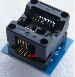 1pcs SOIC8 SOP8 to DIP8 EZ Programmer Adapter Socket Converter Module  150mil