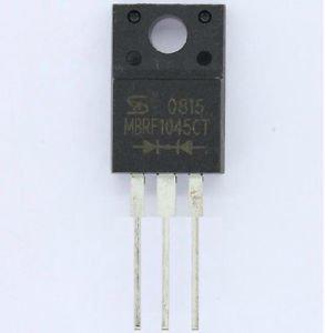 2pcs MBRF1045CT 10A/45V TO-220F New Good Quality