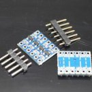 2PCS IIC I2C Logic Level Converter Bi-Directional Module 5V to 3.3V For Arduino