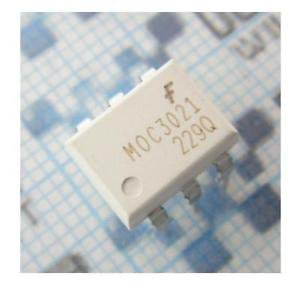 5PCS MOC3021 OPTOISO 400VDRM TRIAC OUT 6-DIP NEW GOOD QUALITY