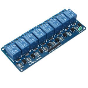 2pcs 5V Eight 8-Channel Relay Module With optocoupler For PIC AVR DSP ARM NEW
