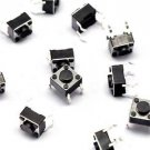 50pcs Tactile Switch Touch Push Button Key Tact Cooker 6 X 6 X 4.3mm 4-pin DIP