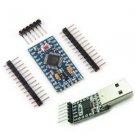 Pro Mini atmega328 5V 16M Arduino Compatible+CP2102 USB 2.0 to UART TTL module