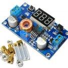 2PCS 5A Adjustable Power DC-DC Step-down Charge Module LED Driver + Voltmeter