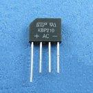5pcs KBP210 KBP 210 2A 1000V Bridge Rectifiers SEP