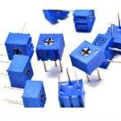 5Pcs 3362P-103 3362 P 10K ohm High Precision Variable Resistor Potentiometer