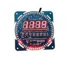 2PCS DS1302 Rotating LED Electronic Digital Clock 51 SCM Learning Board 5V