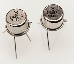 10pcs New 2N3553 Transistors TO-39 MOT NEW