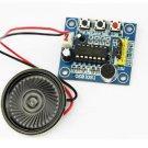 2PCS ISD1820 Sound Voice Recording Playback Module Mic Sound Audio + Loudspeaker