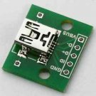 10PCS mini USB to DIP Adapter Converter for 2.54mm PCB Board DIY Power Supply