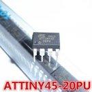 10 PCS MCU IC ATMEL DIP-8 ATTINY45-20PU ATTINY45-20PI ATTINY45 NEW