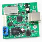 1PCS USB to SPDIF coaxial I2S SA9023 chip DAC supports 24-bit 96K sampling