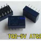 1pcs Panasonic TQ2-5V Low Profile Signal Relay, DPDT / 2 Form C, DC 5V.