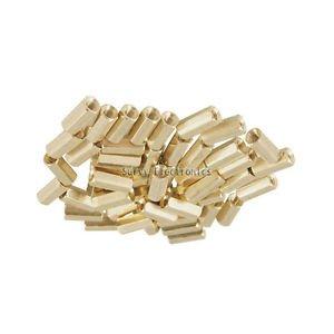20pcs M3 12 mm Hexagonal net nut Female brass Standoff/Spacer New Good Quality