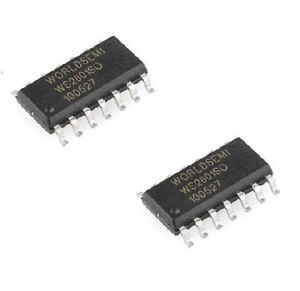 10PCS WS2801SO WS2801 SOP14 3-Channel Constant Current PWM LED Driver ORIGINAL