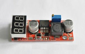 LM2596 DC-DC Step-down module With Digital display Input / output voltage