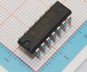 3PCS DIP-14 CD4001BE DIP14 CD4001 CMOS Quad 2-Input NOR Gate 100% original