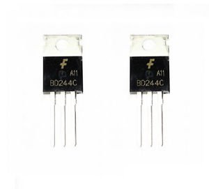 5pcs BD244C TRANSISTOR PNP 100V 6A TO-220 NEW GOOD QUALITY